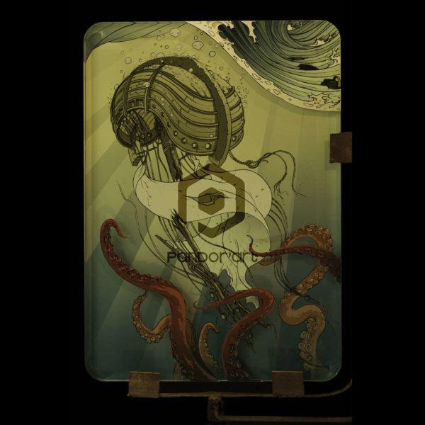 Kraken-Sophie-Haza-resine