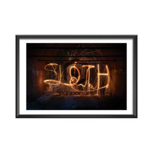 Sloth Thomas Manillier 7 péchés capitaux