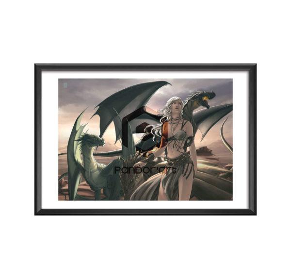 Daenerys art numérique chroniques Arcea