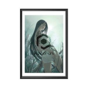 Elwen-à-l'athamé Vyrhelle art numérique chroniques Arcea