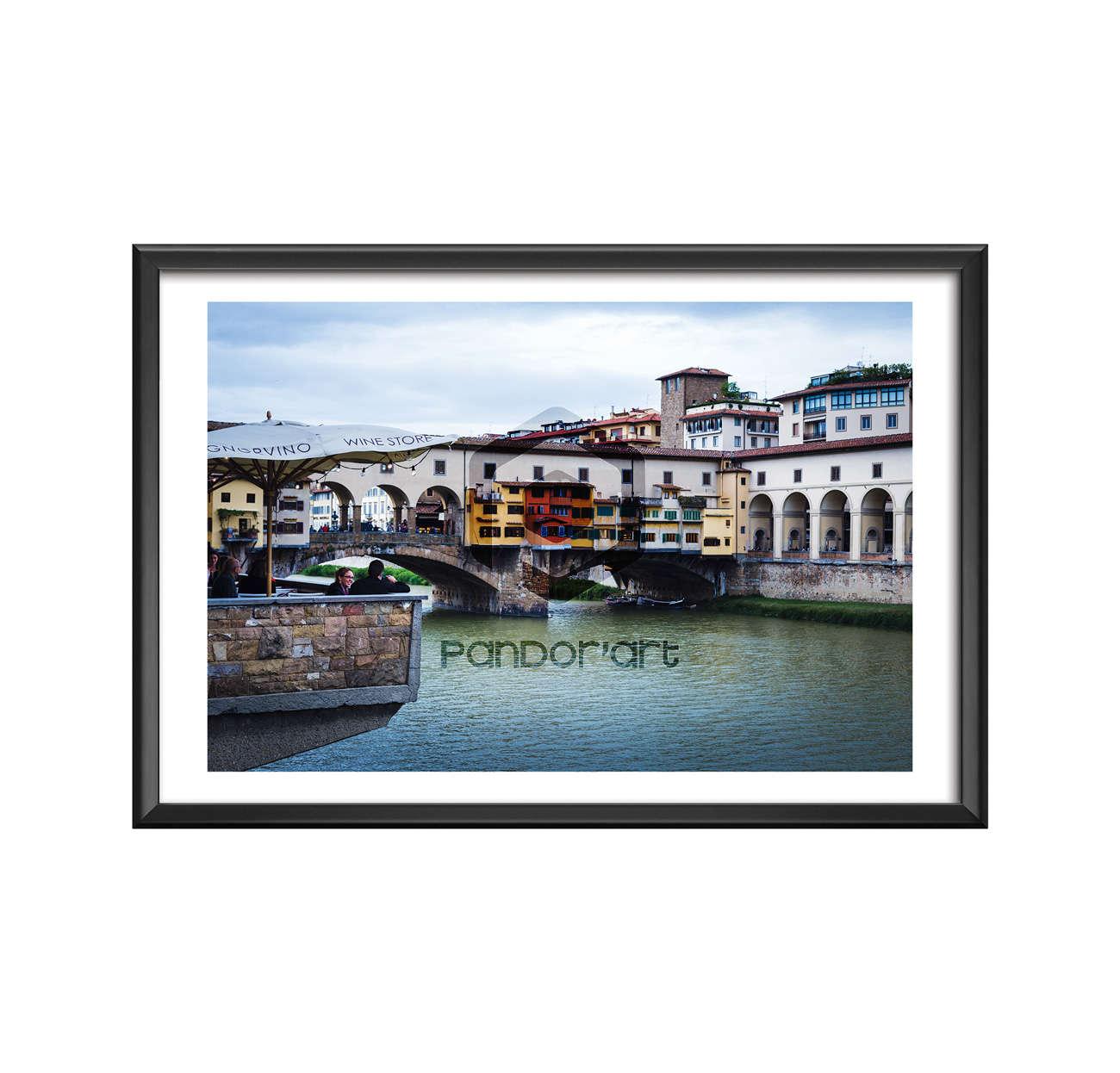Firenze-Ponte-Vecchio Thomas Manillier photographie d'art