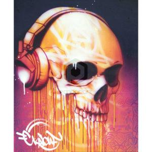 Hip-hop-jusqu'à-la-mort Kalouf street art
