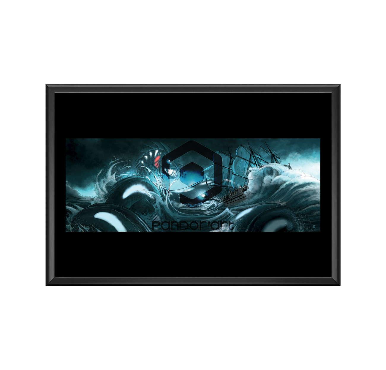 Leviathan art numérique chroniques Arcea