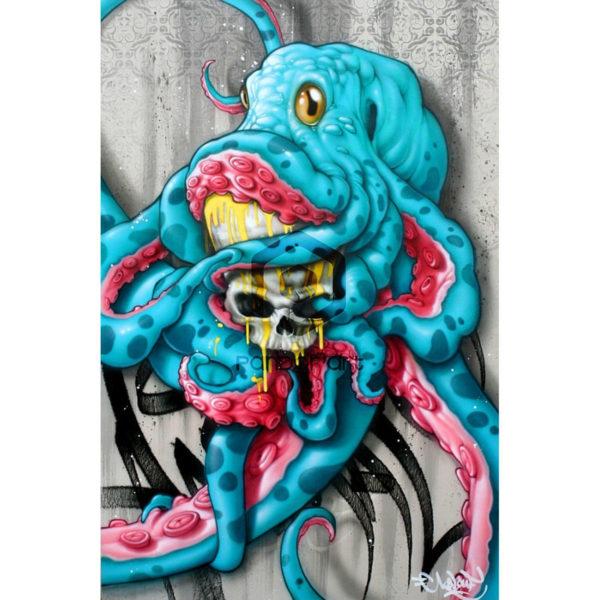 Regne animal Kalouf street art