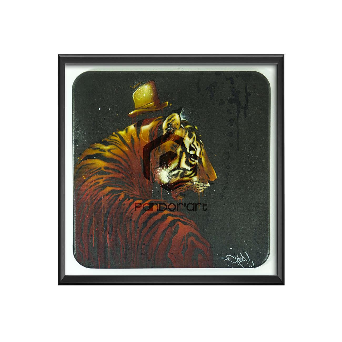 Tigris 2 cadre Kalouf street art