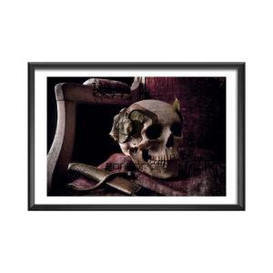 Vanité du pouvoir Thomas Manillier photographie d'art