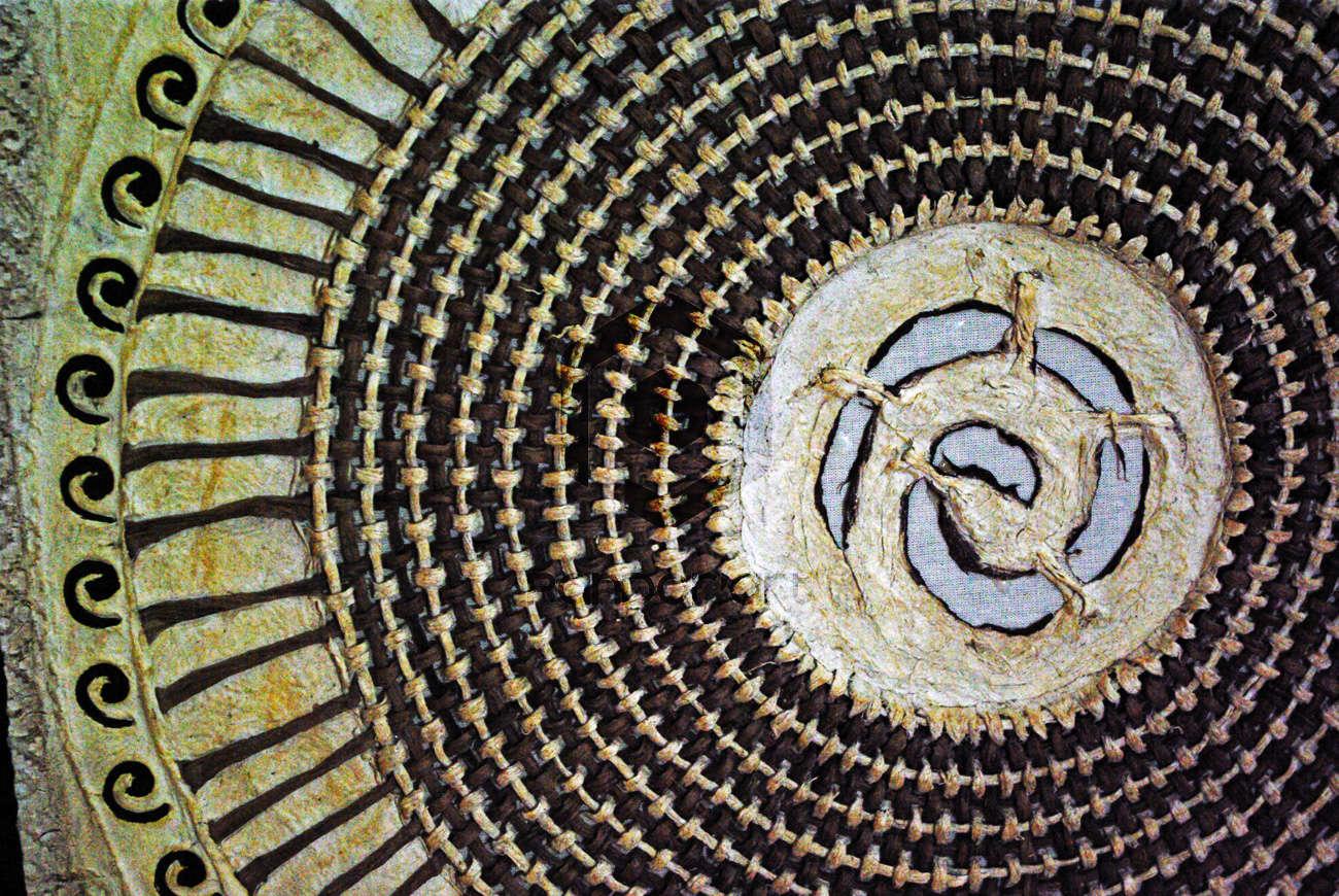 Papier amate caracoles art mexicain