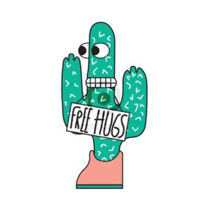 Free Hugs Poney M art numerique Pandorart artiste