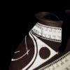 vase ceramique blanc marron art mexicain mata ortiz