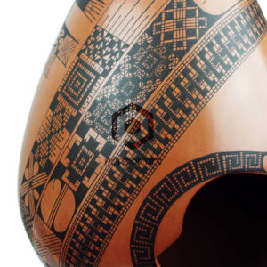 vase ceramique art mexicain mata ortiz couleurs marron