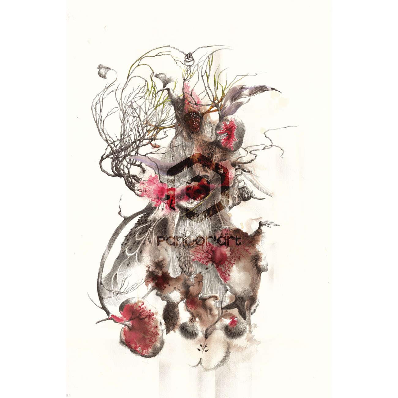 La-déesse-et-la-Pomme Helene Lagnieu