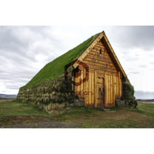 Maison-traditionnelle-Viking--Islandaise