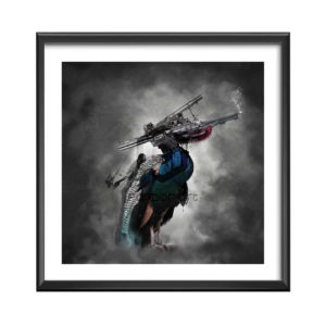 14Bird Gun --cadre-Alexis Armion