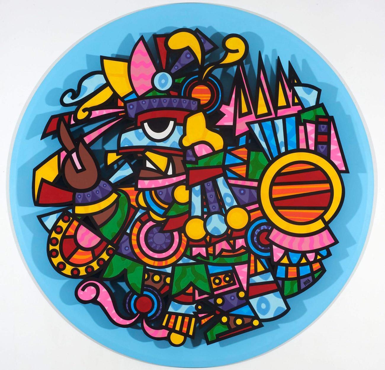 Fernando Davila - America Perdida cercle bleu