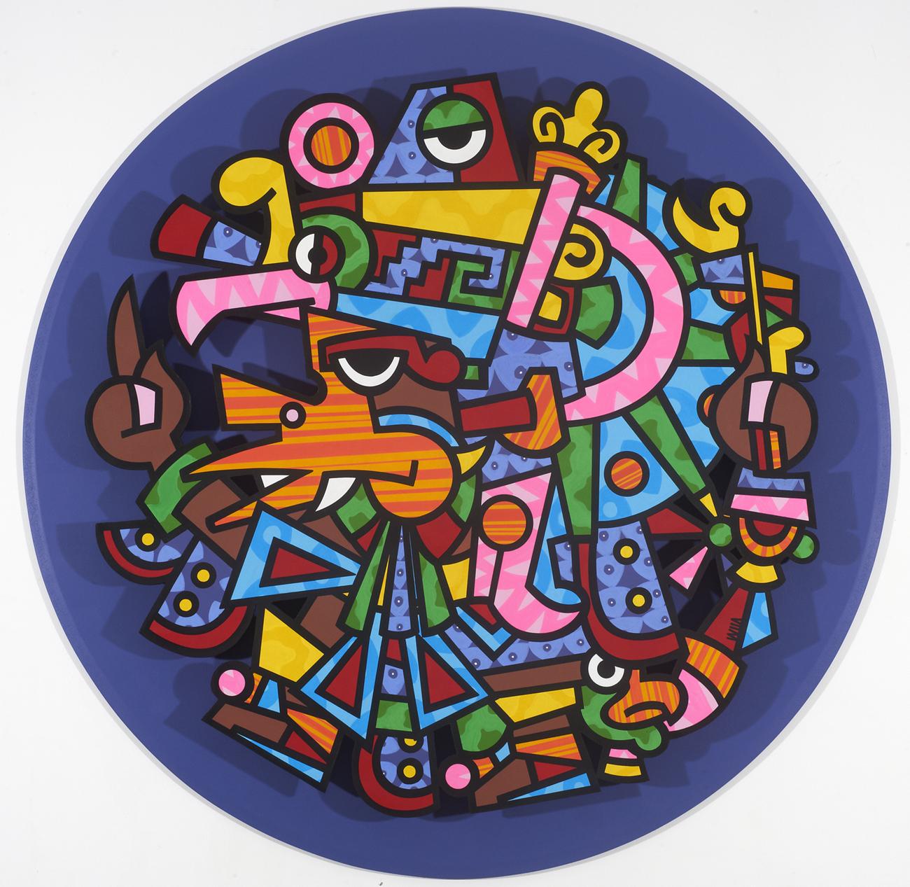 Fernando Davila - America Perdida cercle violet