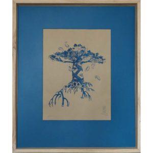 L'arbre-à-poisson---MéthylN---art-contemporain-sérigraphie-numerotee-signee-(2)