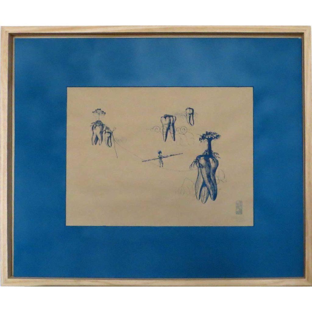 Racines-flottantes----MéthylN---art-contemporain-sérigraphie-numerotee-signee