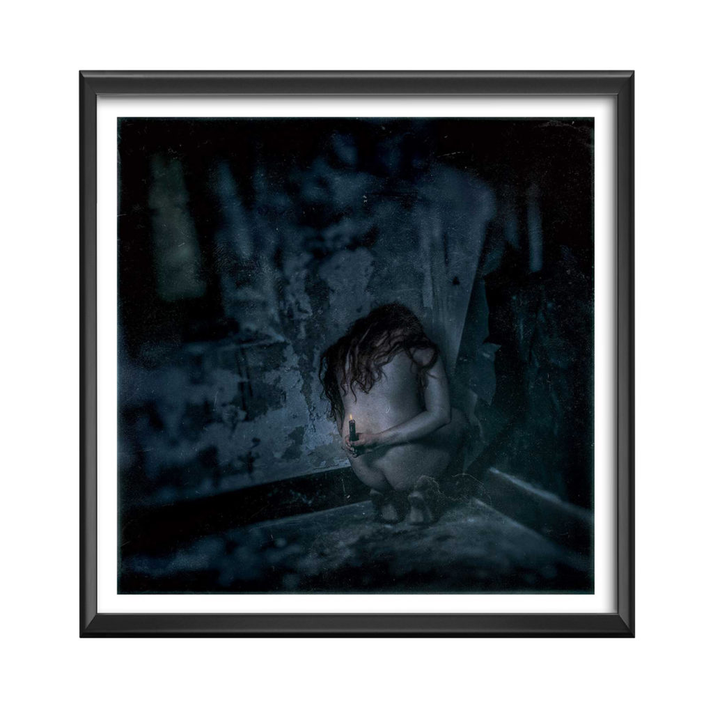 le-silence-cadre 100x100---olya---photographie-art