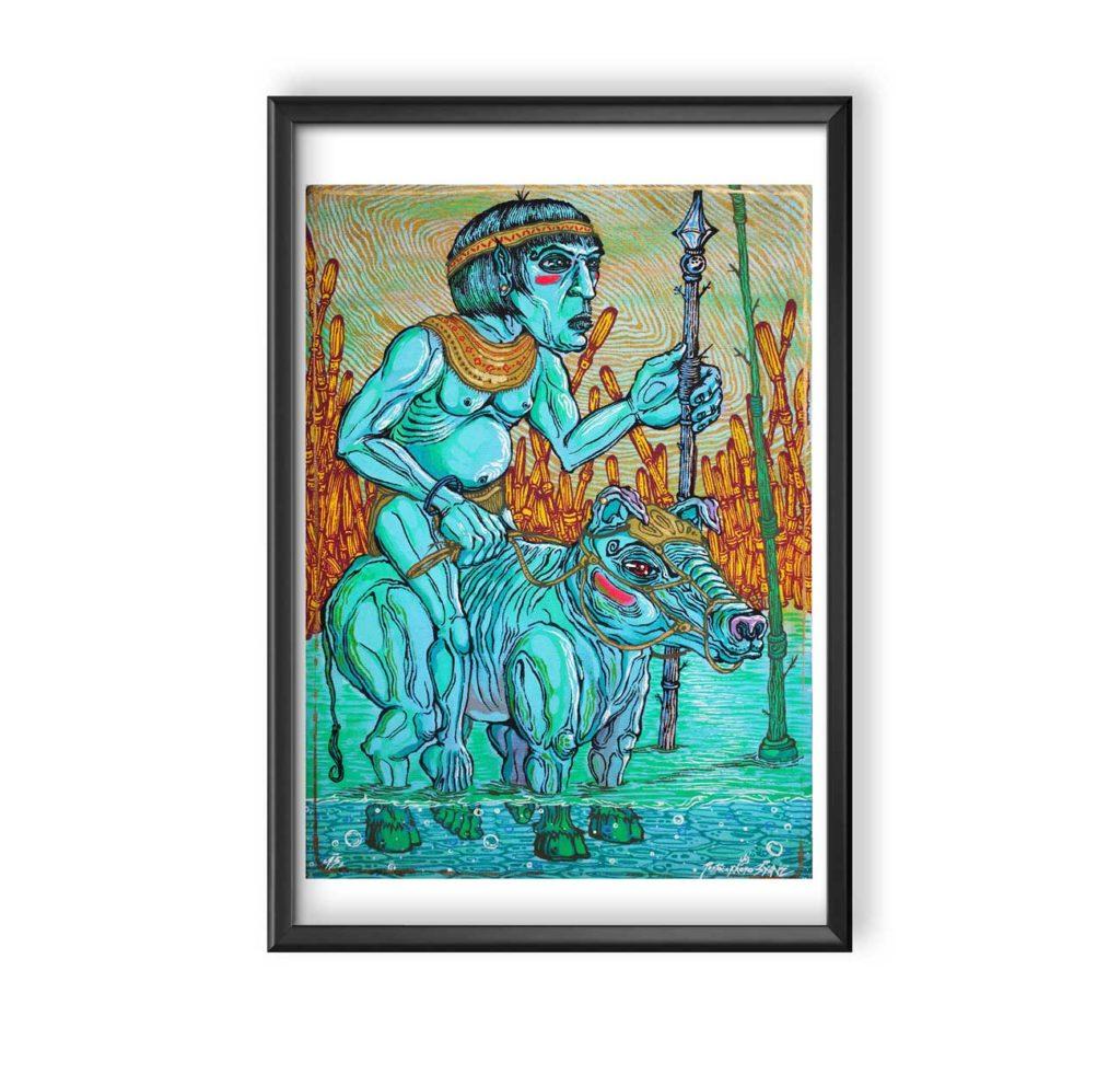 guardian-de-los-rios-60x80-street-art-Yandy-Graffer