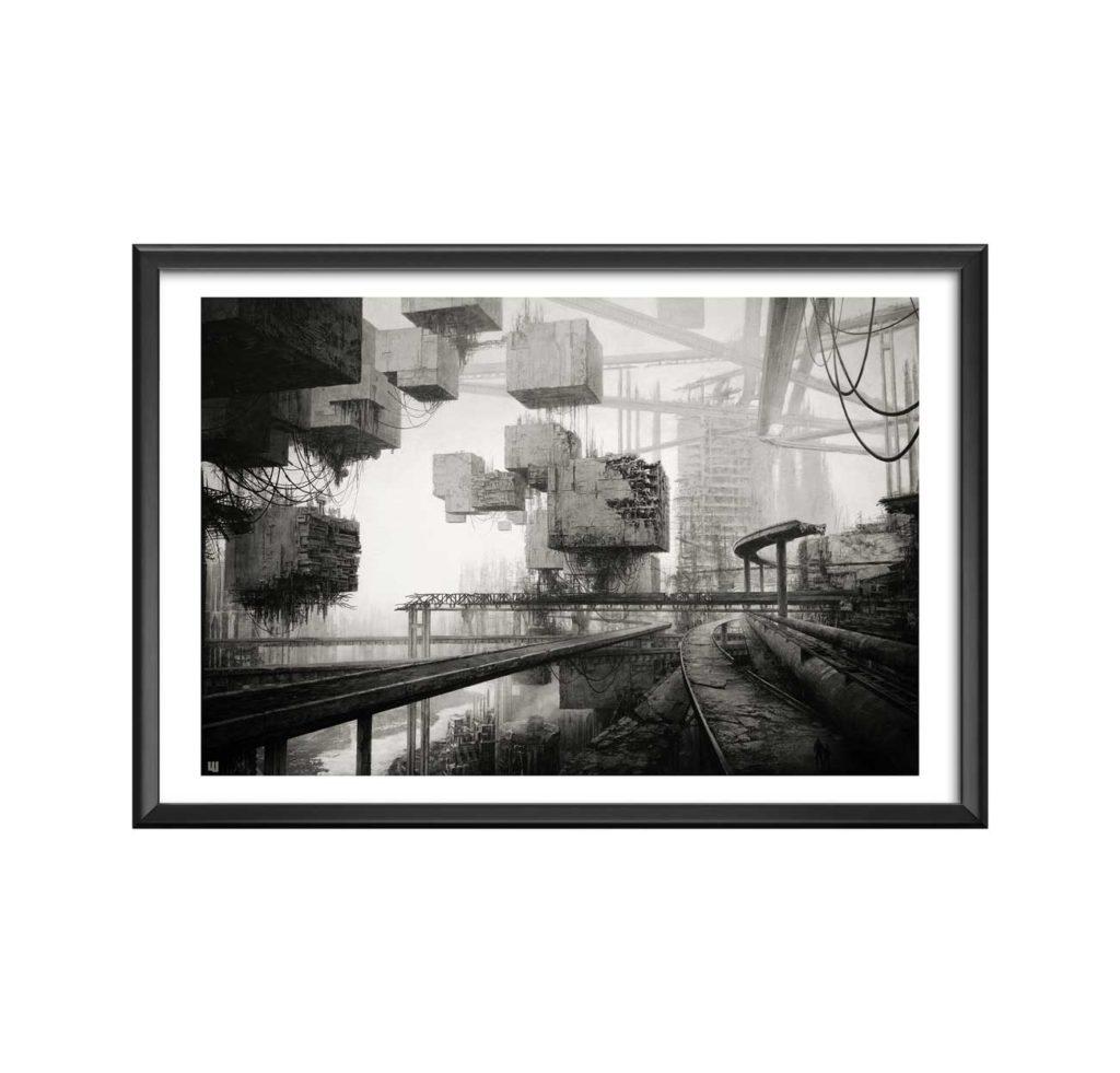 AC-Destroid-6 - willy bihoreau - peinture art numerique