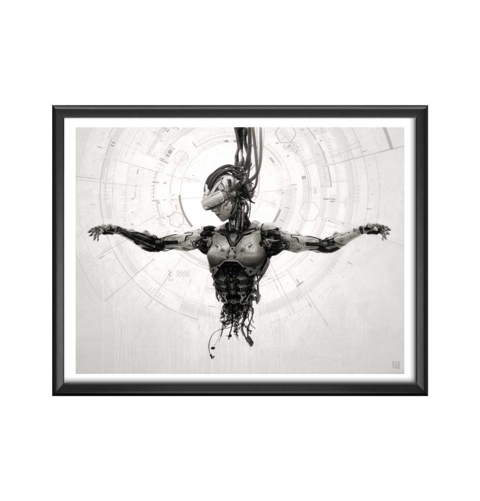 AC-Divine-A.I. - willy bihoreau - peinture art numerique