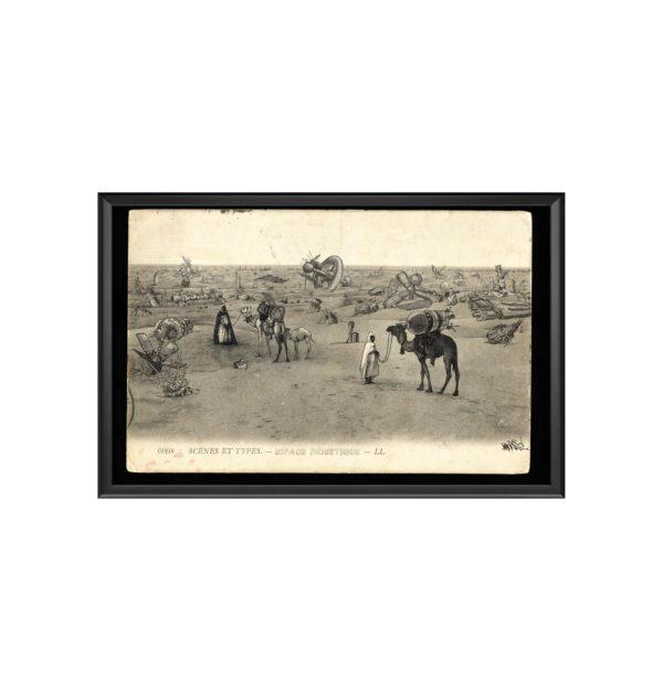AC Espace desertique cadre marc mandril peinture digitale