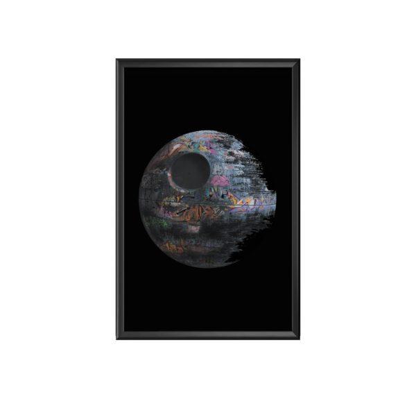 AC Etoile Noire cadre marc mandril peinture digitale