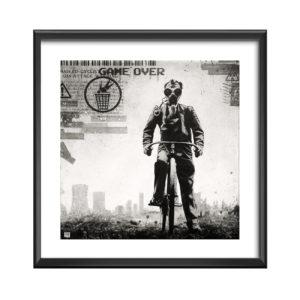 AC Masked Cyclist - willy bihoreau - peinture art numerique