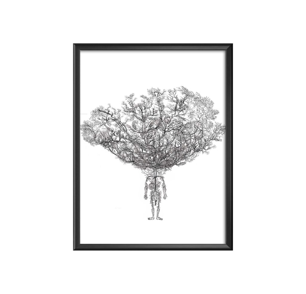 AC-human-tree-(pur) marc mandril peinture digitale