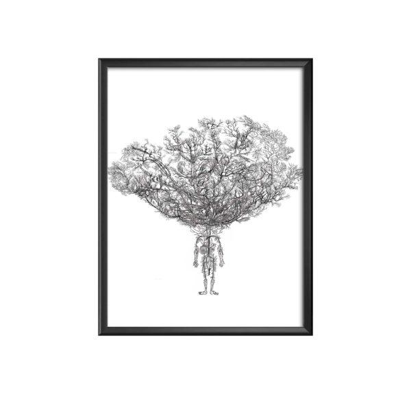 AC-human-tree-(pur) marc mandril peinture digitale