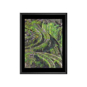 AC megalogreen 90x120 marc mandril peinture digitale