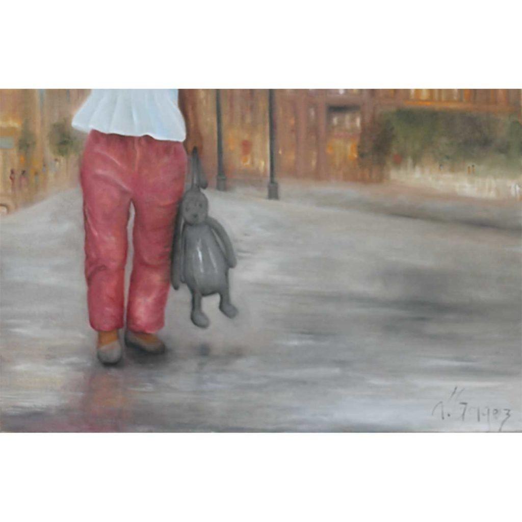 Grandes-oreilles Laure Gragez - Peinture art contemporain