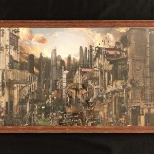 Mini Contemporara art city Slum