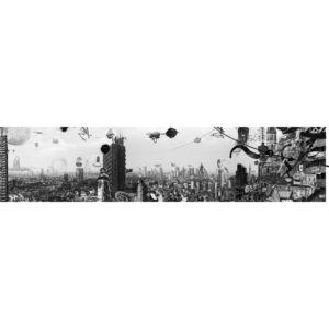 Mini TOKYO FLAMMENT carré marc mandril peinture digitale