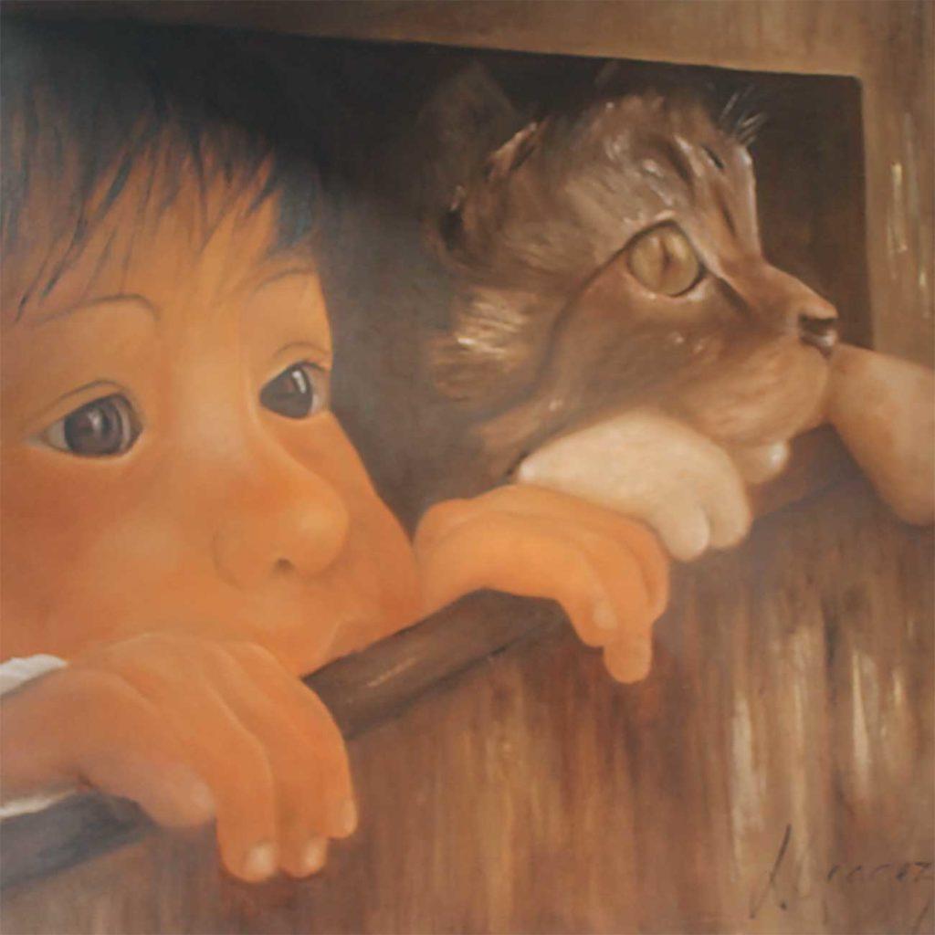 Ni-vu-ni-connu Laure Gragez - Peinture art contemporain