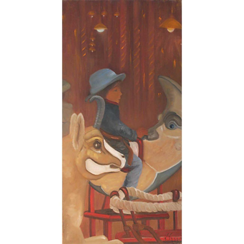 Pierrot Laure Gragez - Peinture art contemporain