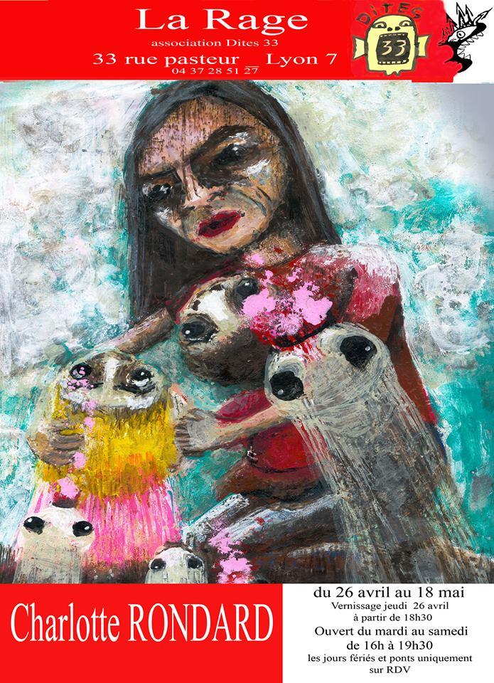 vernissage rondard galerie rage art brut