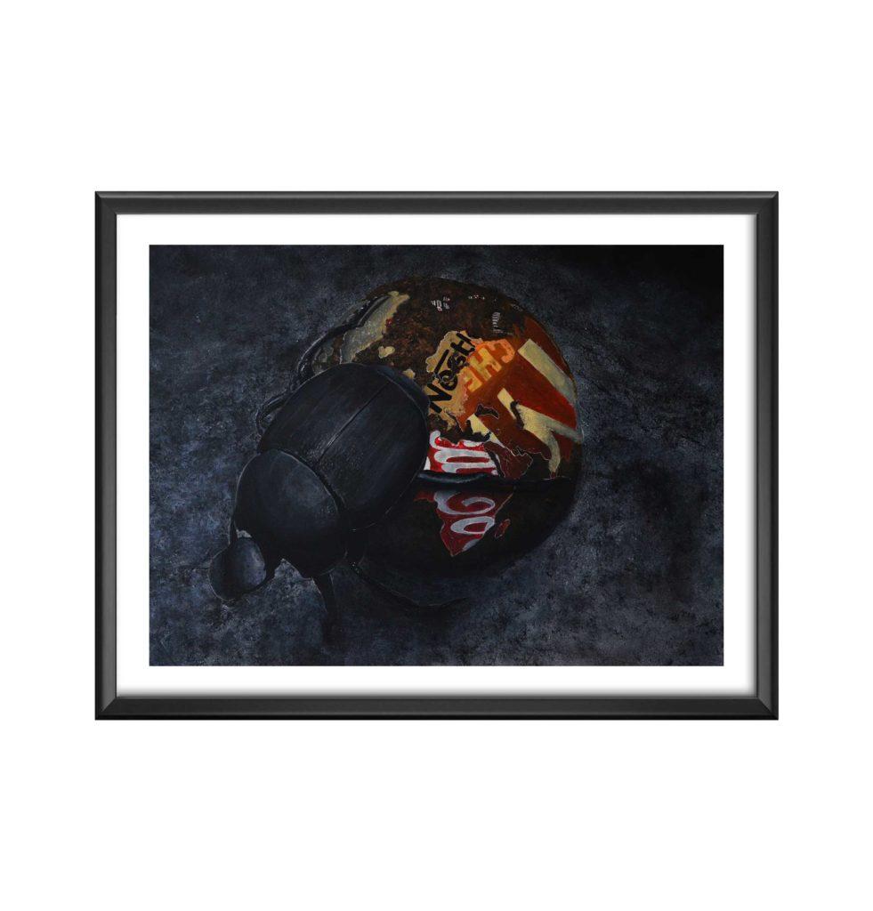 AC-BOUSIER - antoine seurot - peinture acrylique sur toile