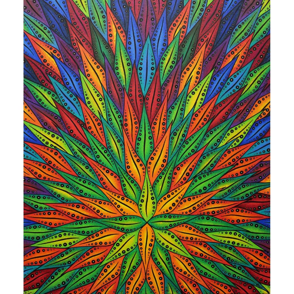 Floraisondecouleursvue1-peinture-art-contemporain-jonathan-pradillon