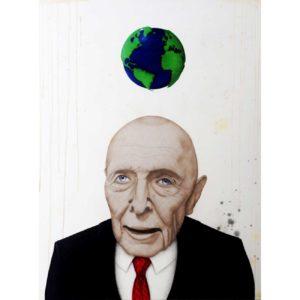 Mondialisation - peinture art contemporain - Anthony Ferrero