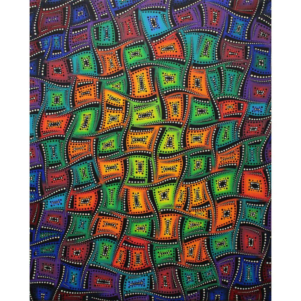 Mouvementsdecouleursmixtesvue1-peinture-art-contemporain-jonathan-pradillon