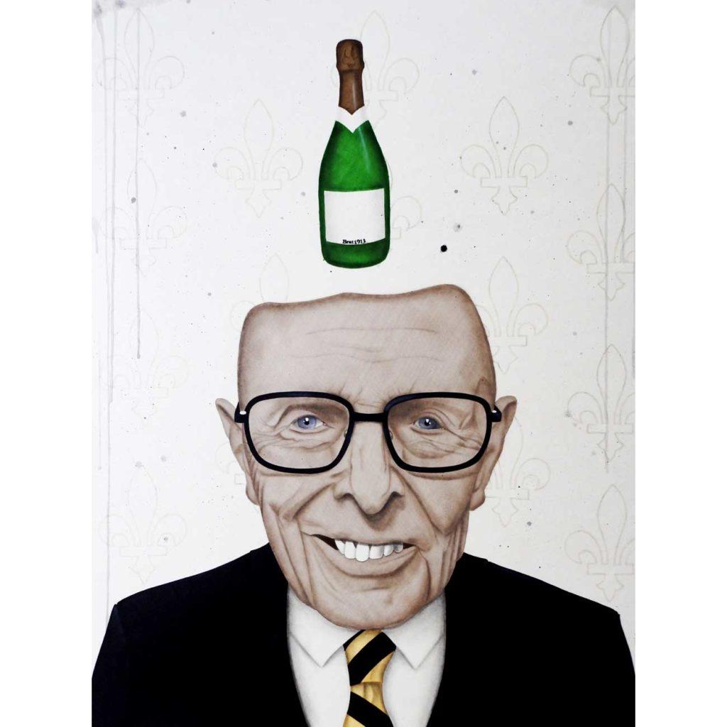 Privilèges - peinture art contemporain - Anthony Ferrero