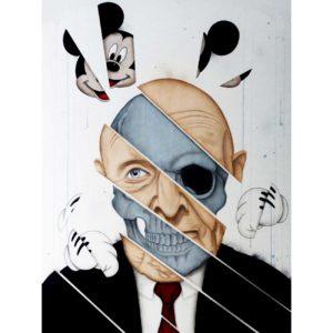 The-pact - peinture art contemporain - Anthony Ferrero