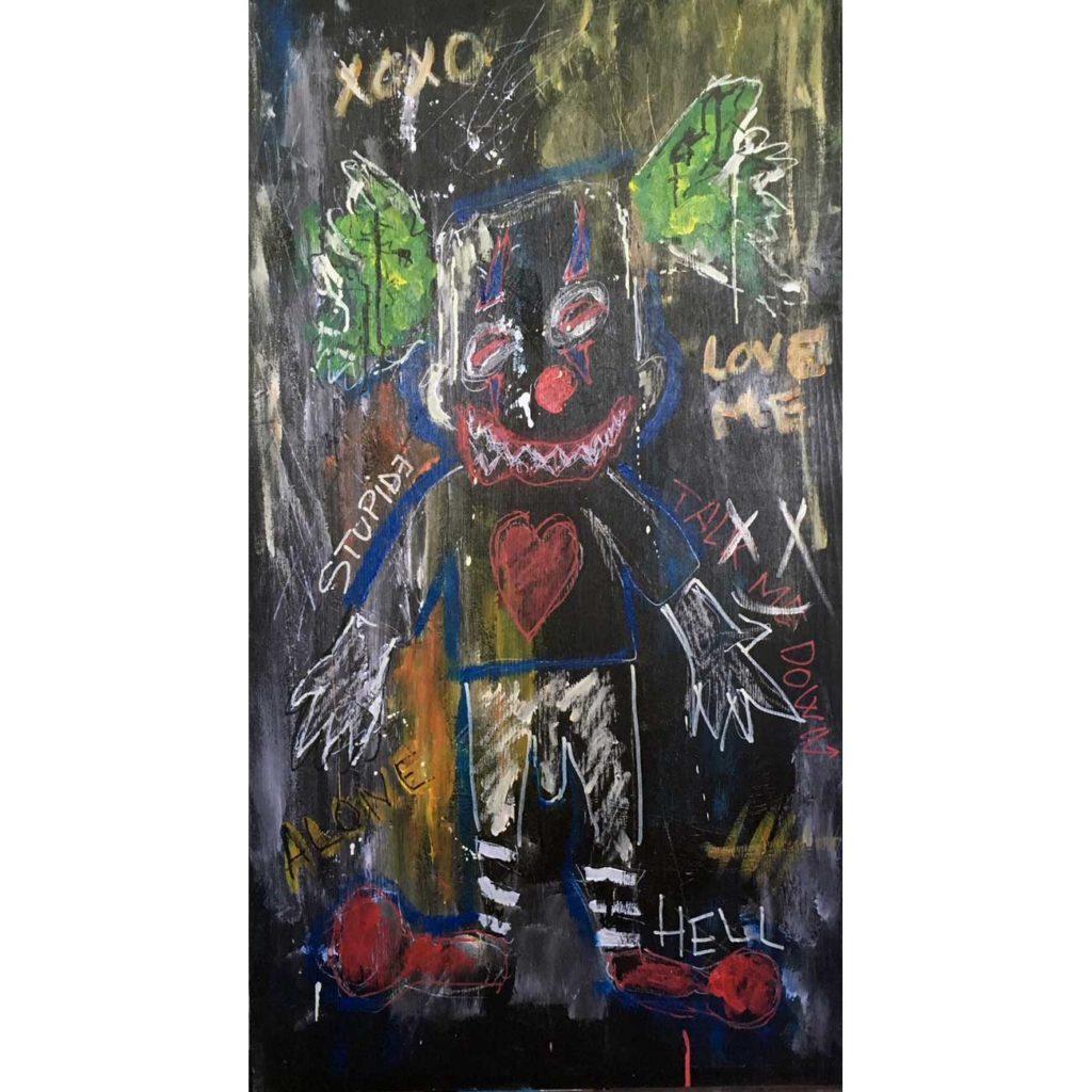 Clown---Clement-Berle---Art-Brut