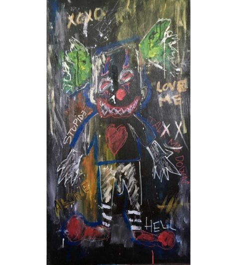 Clown---Clement-Berle---Art-Brut