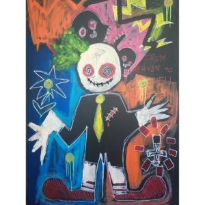 From-heaven-to-hell---Clement-Berle---Art-Brut