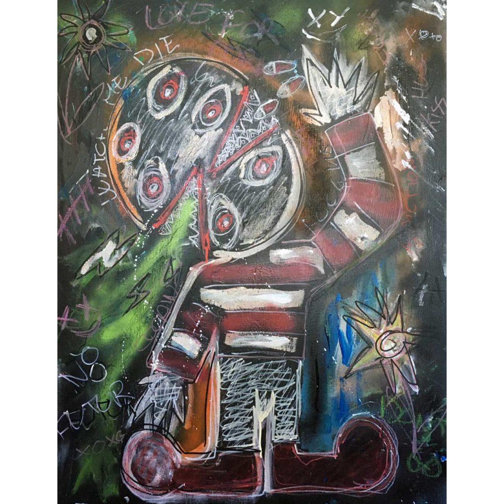 Watch-me-die---Clement-Berle---Art-Brut