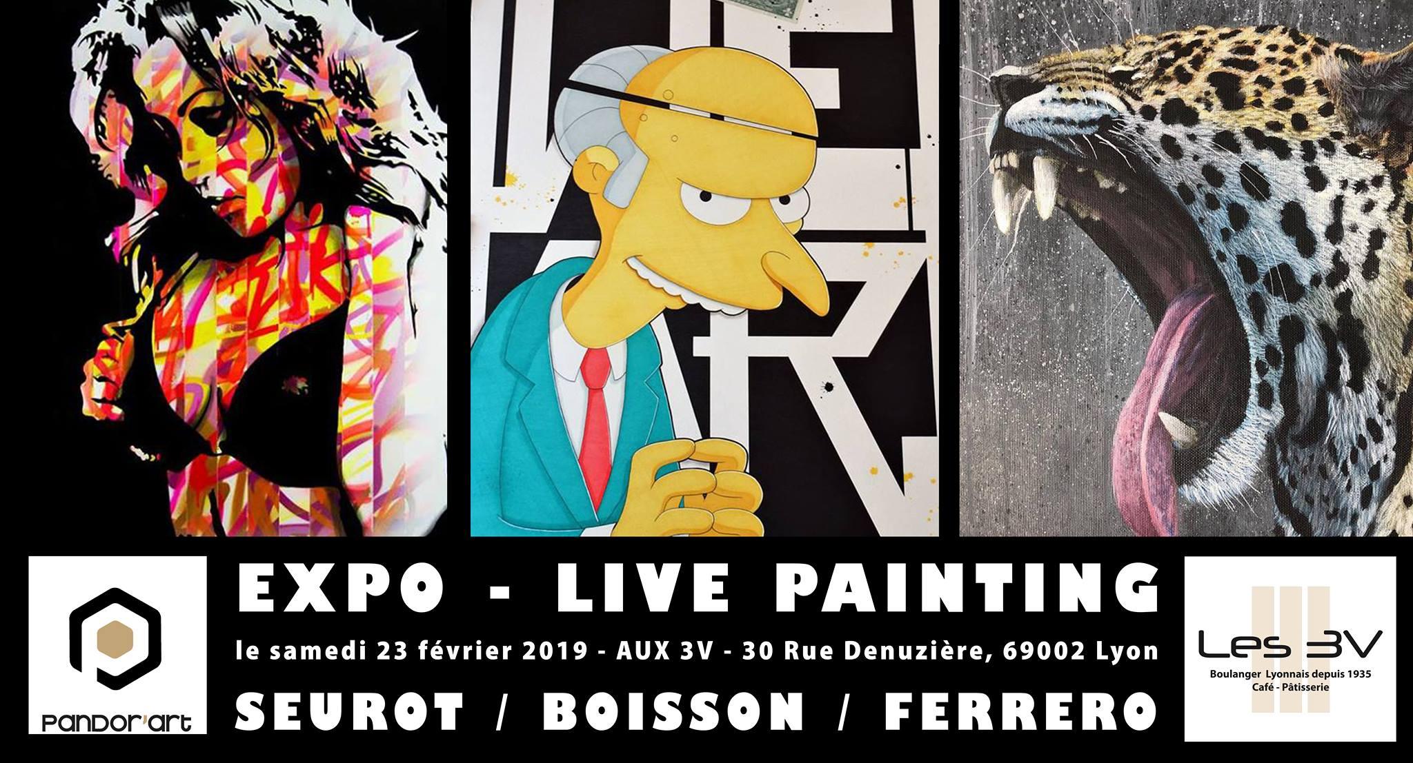 live painting 3v lyon pandorart