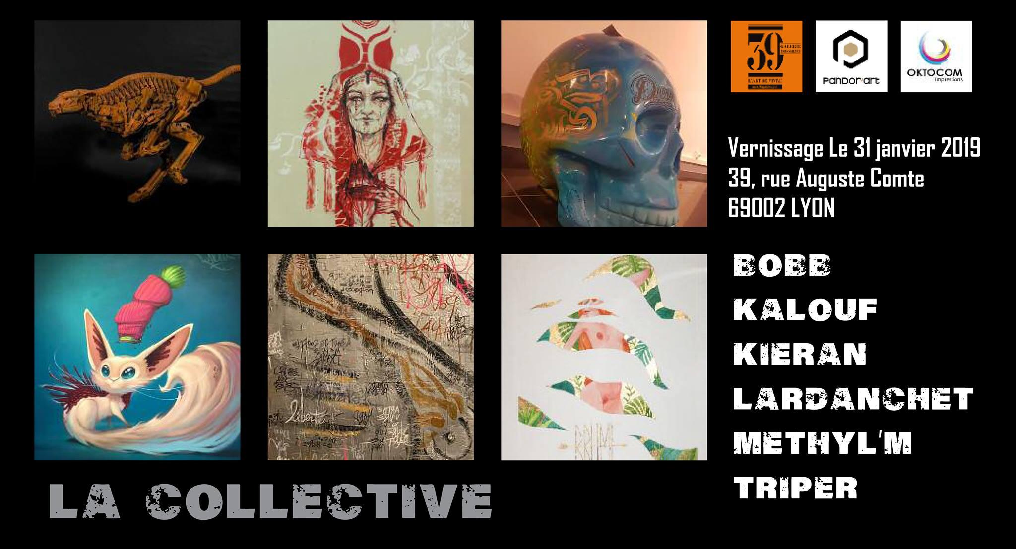 exposition collective pandorart 39 galerie lyon