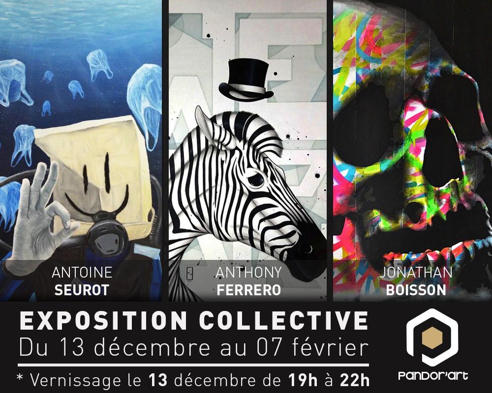anticafe pandorart exposition collective lyon 13 décembre